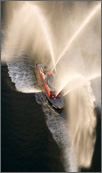 fire boat aerial